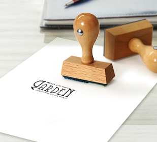 About personalized custom wooden rubber stamps