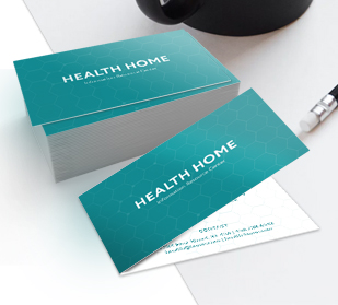 about custom folded business cards printing