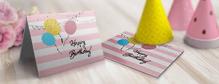 Customized Greeting Cards - Superior Quality