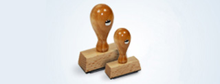 Custom Wooden Rubber Stamps