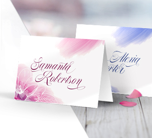 Custom Full Color Place Cards